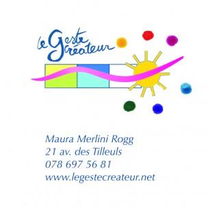 Un logo dynamique, joyeux, qui cherche à inviter le spectateur à passer à l'action... Jouer à peindre
